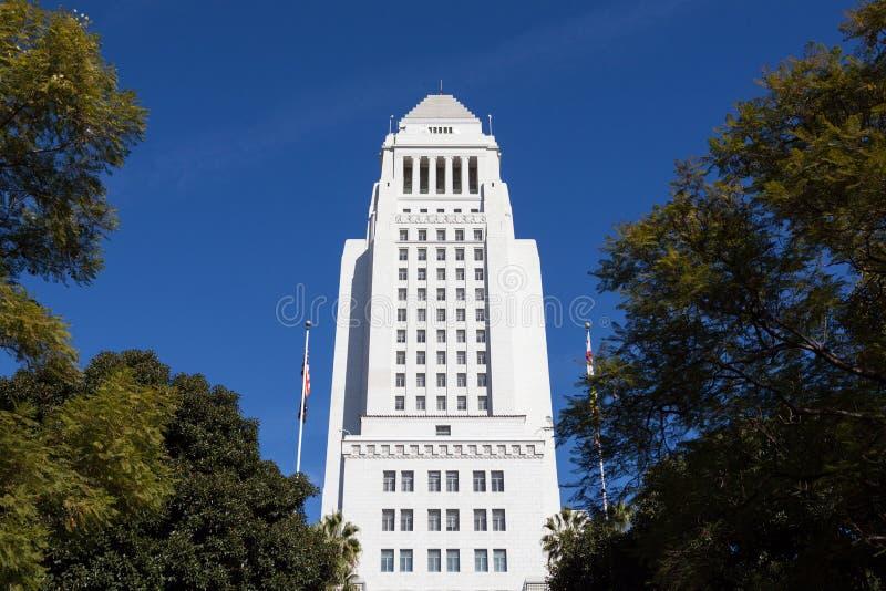 Λος Άντζελες, Καλιφόρνια Δημαρχείο στο στο κέντρο της πόλης Λα. στοκ φωτογραφία με δικαίωμα ελεύθερης χρήσης