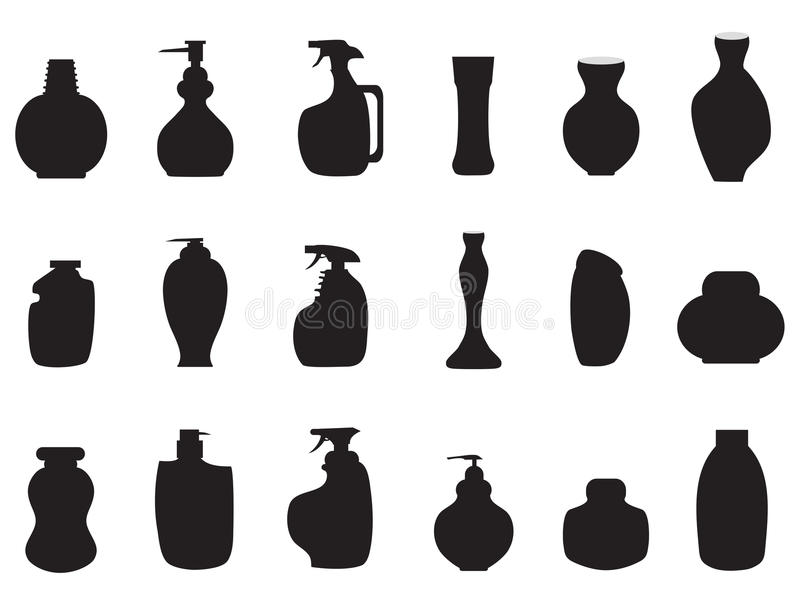 λοσιόν εικονιδίων απεικόνιση αποθεμάτων