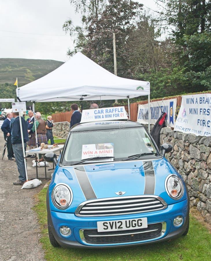 Λοταρία για να κερδίσει ένα αυτοκίνητο στη συλλογή Braemar στοκ φωτογραφία με δικαίωμα ελεύθερης χρήσης
