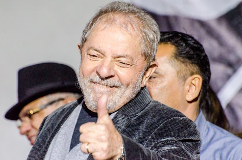 Λουίς Ινάσιο Λούλα ντα Σίλβα στοκ εικόνα