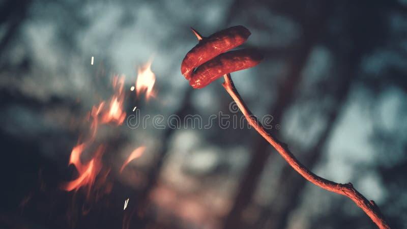 Λουκάνικα στοκ φωτογραφίες με δικαίωμα ελεύθερης χρήσης