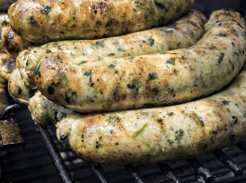 Λουκάνικο χοιρινού κρέατος στοκ εικόνες με δικαίωμα ελεύθερης χρήσης