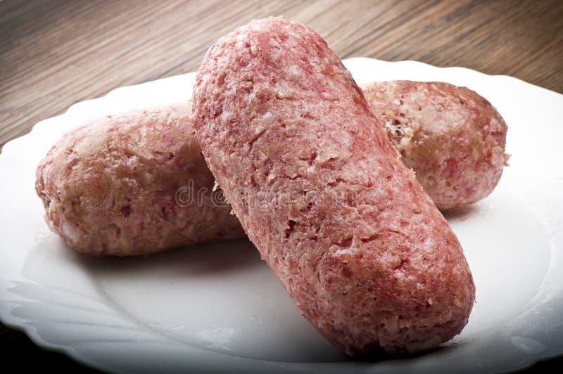 Λουκάνικο χοιρινού κρέατος στοκ φωτογραφία με δικαίωμα ελεύθερης χρήσης