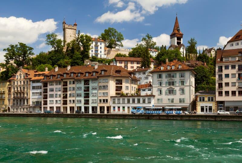 Λουκέρνη, Ελβετία στοκ εικόνες
