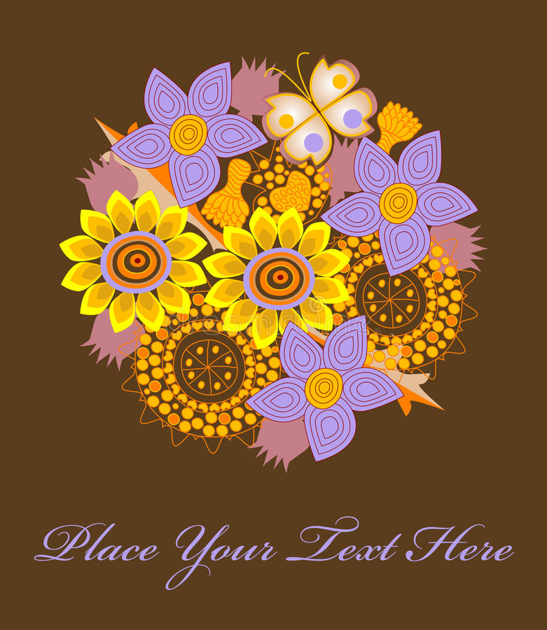 λουλούδια ανθοδεσμών ελεύθερη απεικόνιση δικαιώματος