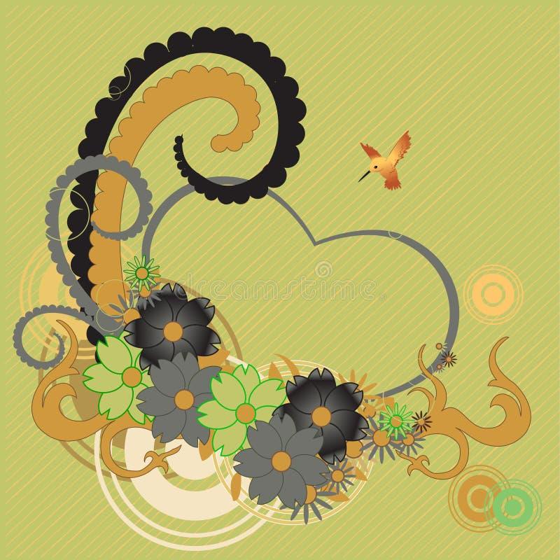 λουλούδια φοβιτσιάρη ελεύθερη απεικόνιση δικαιώματος