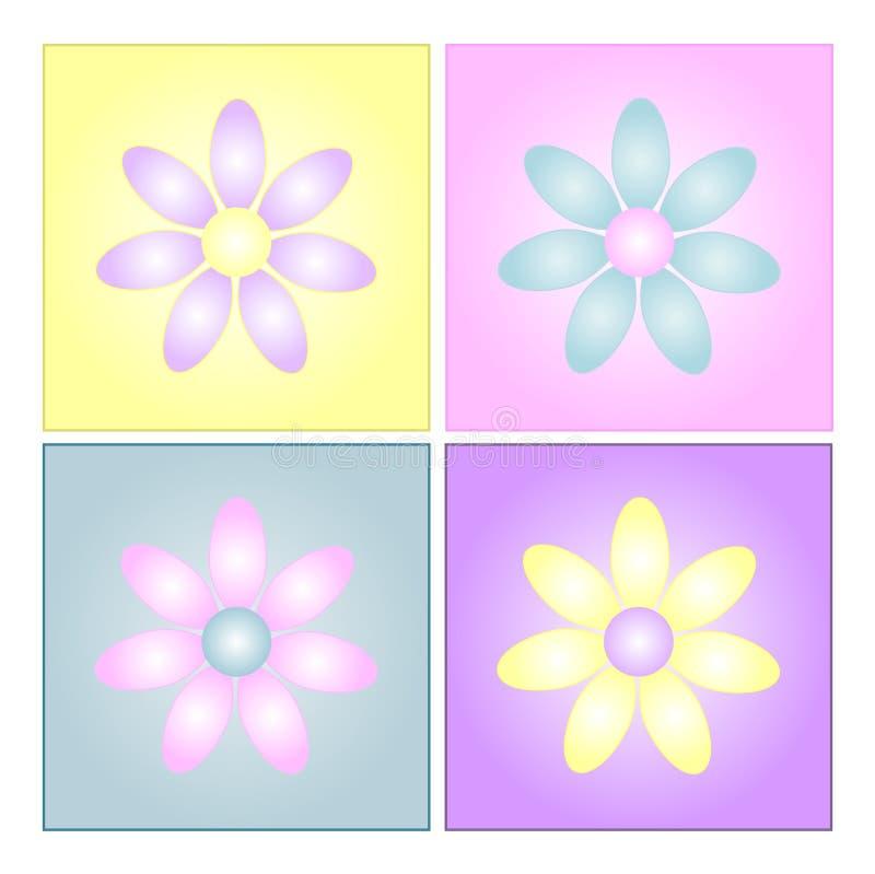 λουλούδι ανασκοπήσεων ελεύθερη απεικόνιση δικαιώματος