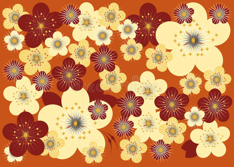 Download λουλούδι ανασκόπησης διανυσματική απεικόνιση. εικονογραφία από φυσικός - 13186984