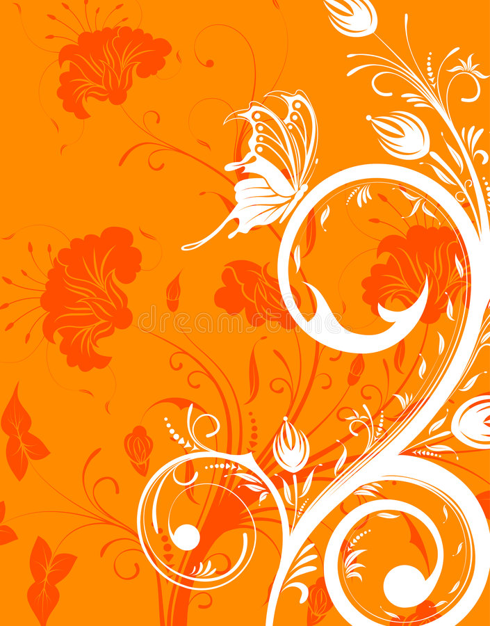 λουλούδι ανασκόπησης ελεύθερη απεικόνιση δικαιώματος