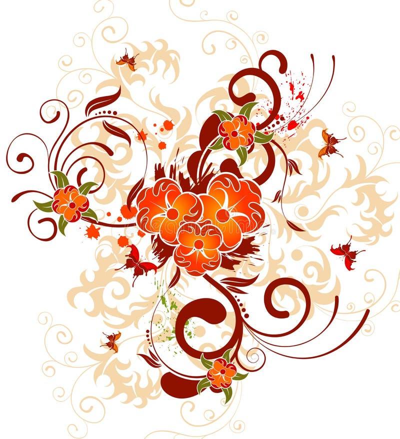 λουλούδι ανασκόπησης απεικόνιση αποθεμάτων