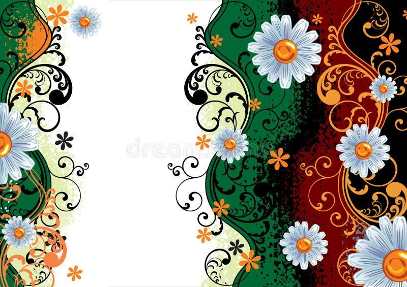 λουλούδι ανασκόπησης διανυσματική απεικόνιση