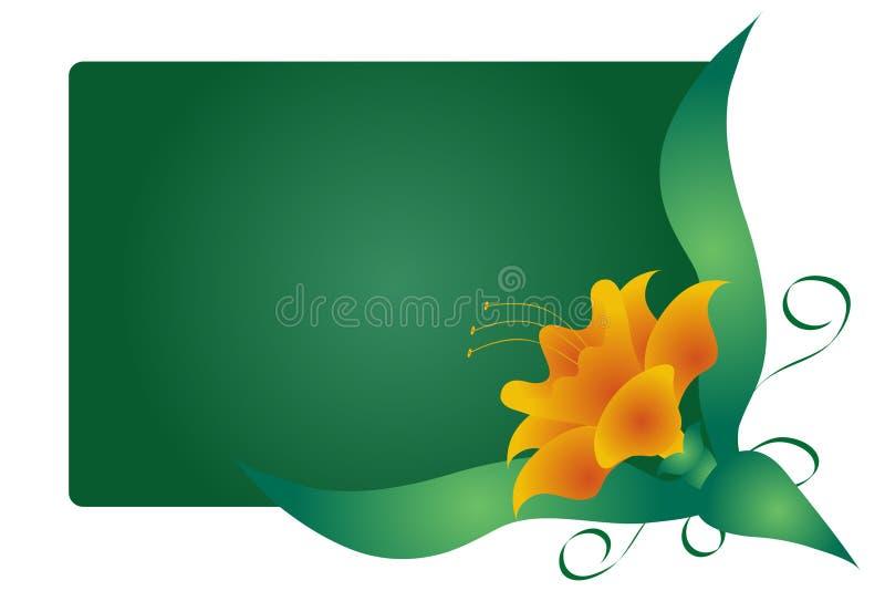 λουλούδι γραφικό διανυσματική απεικόνιση