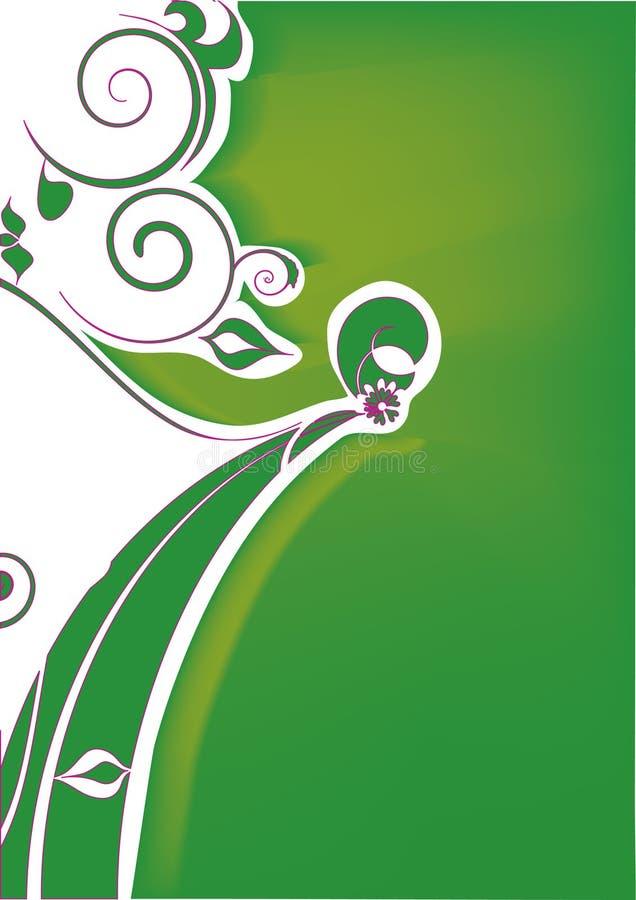 Download λουλούδι διακοσμήσεω& διανυσματική απεικόνιση. εικονογραφία από φύλλο - 13184838