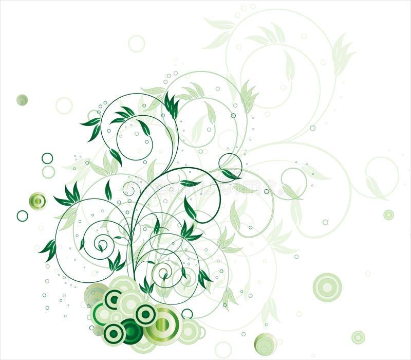 λουλούδι κύκλων διανυσματική απεικόνιση