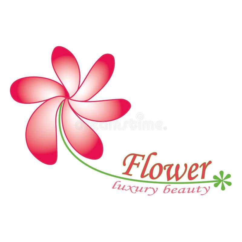 Λουλούδι λογότυπων, διάνυσμα απεικόνιση αποθεμάτων