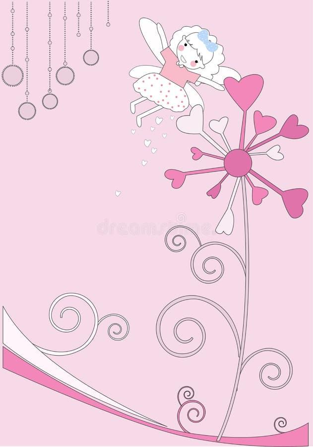 λουλούδι νεράιδων διανυσματική απεικόνιση