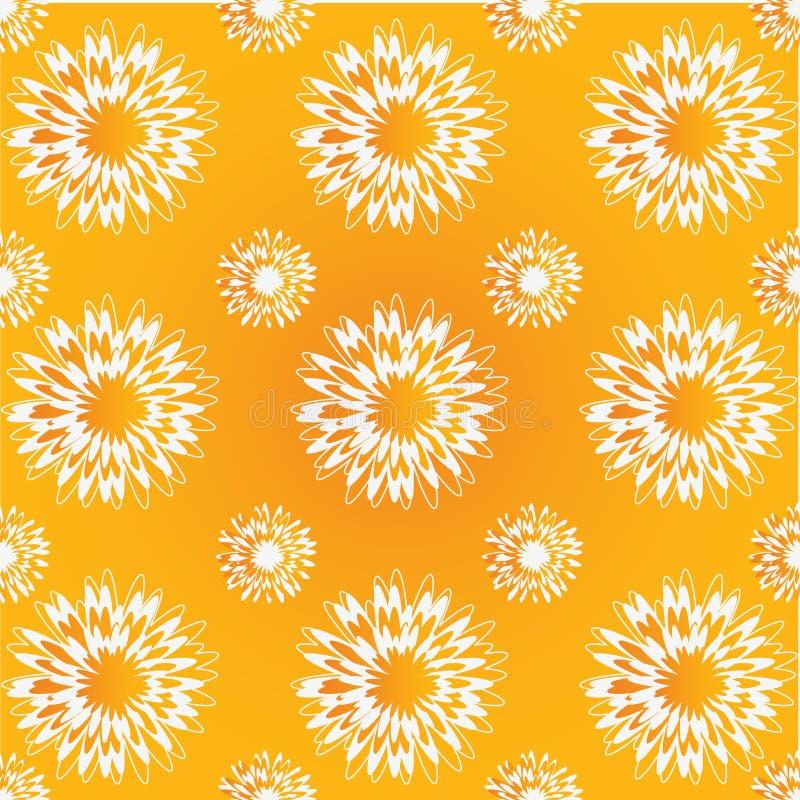 λουλούδι πικραλίδων αν&alp διανυσματική απεικόνιση