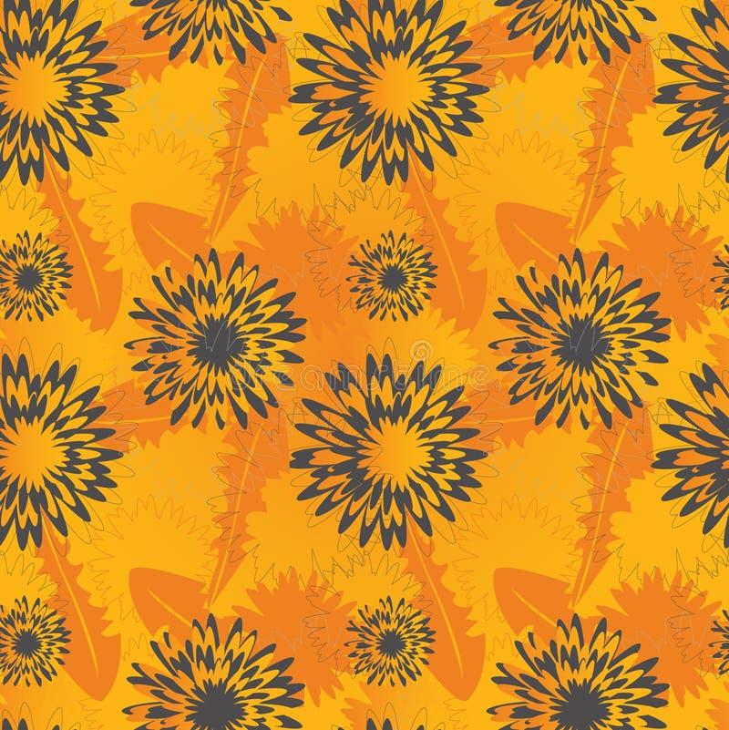 λουλούδι πικραλίδων αν&alp ελεύθερη απεικόνιση δικαιώματος