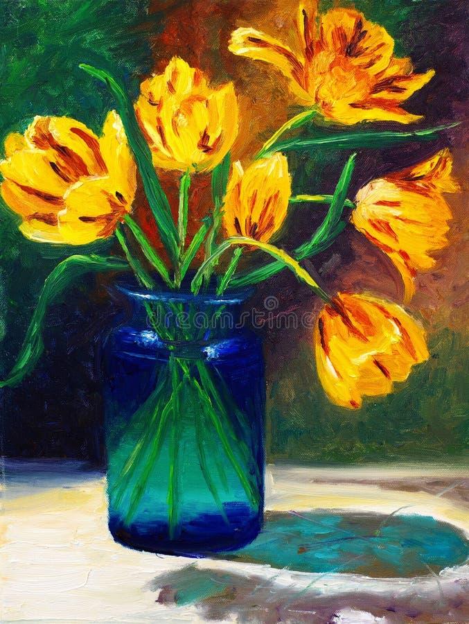 λουλούδι ρύθμισης απεικόνιση αποθεμάτων