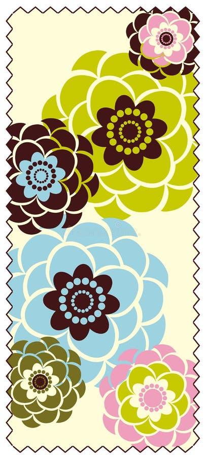 λουλούδι συνόρων διανυσματική απεικόνιση