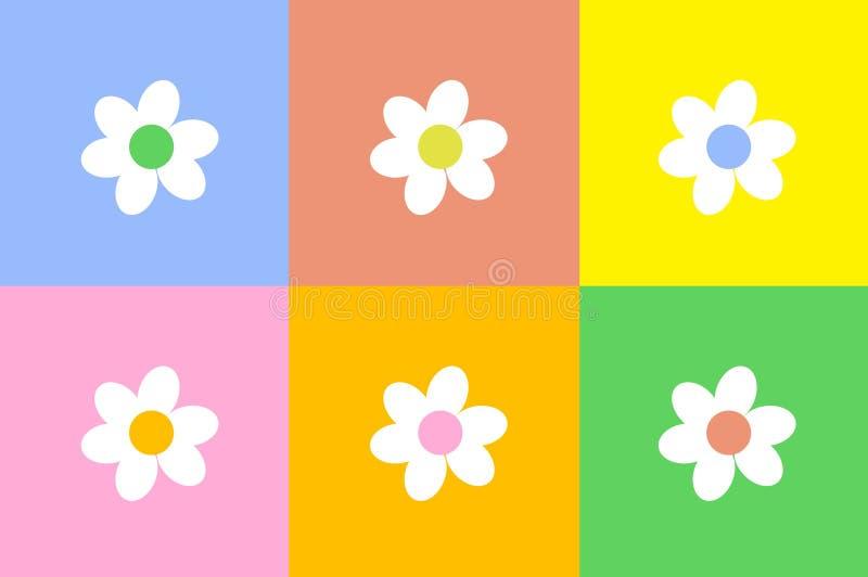 λουλούδι σχεδίου διανυσματική απεικόνιση