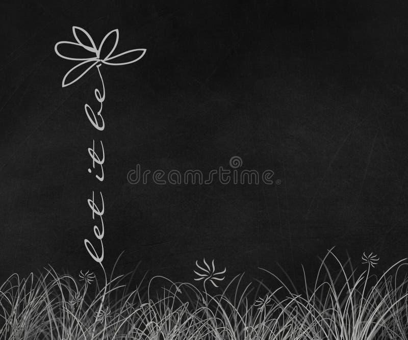 Λουλούδι της Daisy με την εμπνευσμένη φράση απεικόνιση αποθεμάτων