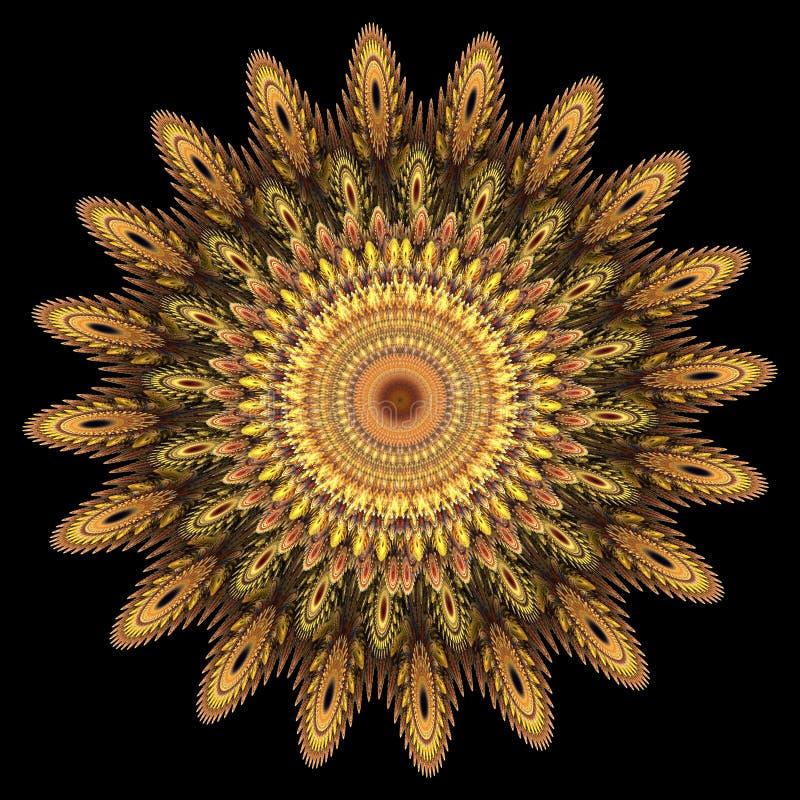 λουλούδι υπολογιστών &p διανυσματική απεικόνιση