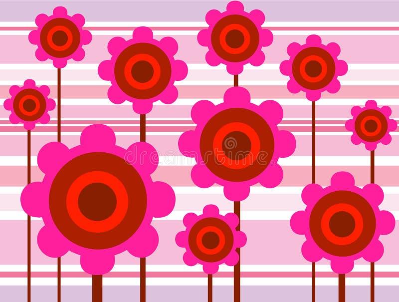 λουλούδι 01 τέχνης διανυσματική απεικόνιση