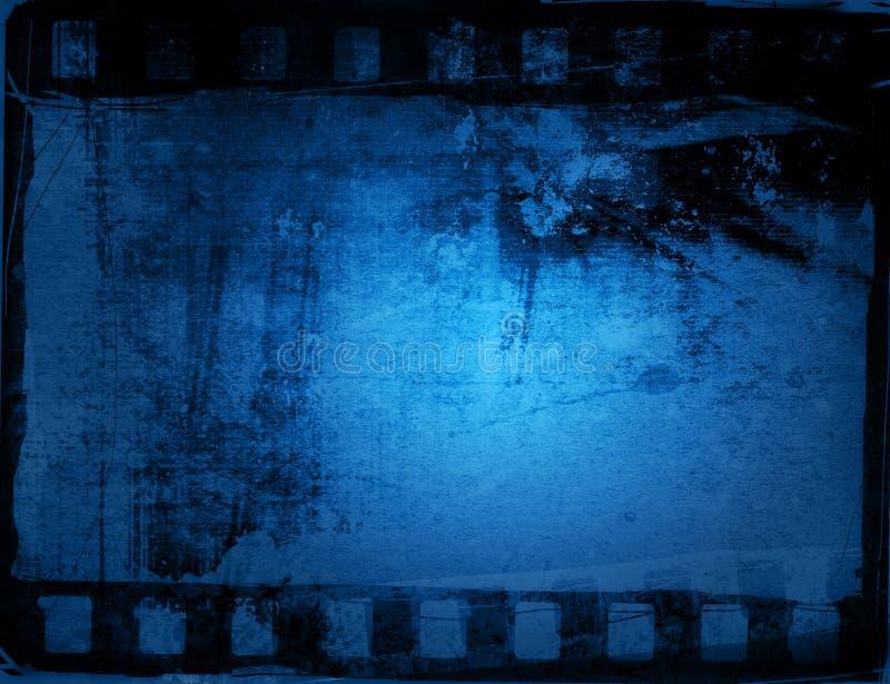 λουρίδα ταινιών ανασκοπήσεων grunge διανυσματική απεικόνιση