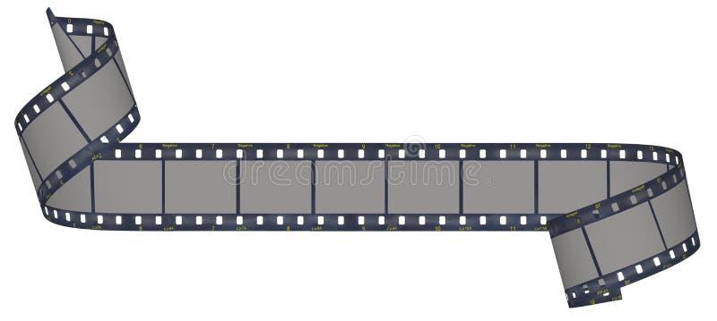 λουρίδα ταινιών φωτογραφικών μηχανών απεικόνιση αποθεμάτων