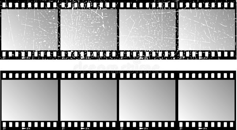 λουρίδες ταινιών διανυσματική απεικόνιση