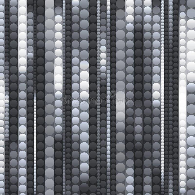 Λουρίδες των λαμπρών γραπτών κύκλων ελεύθερη απεικόνιση δικαιώματος