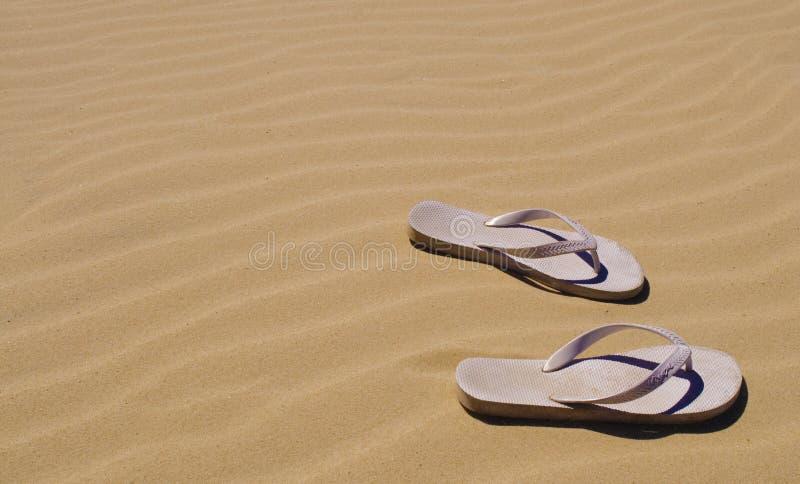Λουριά στην άμμο στην Αυστραλία στοκ φωτογραφία