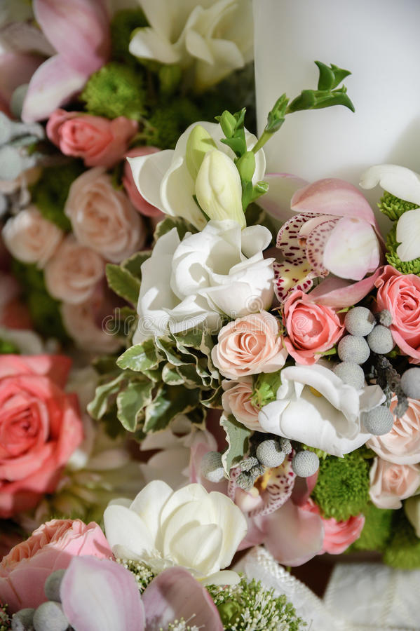 Λουλούδια γαμήλιας τελετής στοκ εικόνα με δικαίωμα ελεύθερης χρήσης