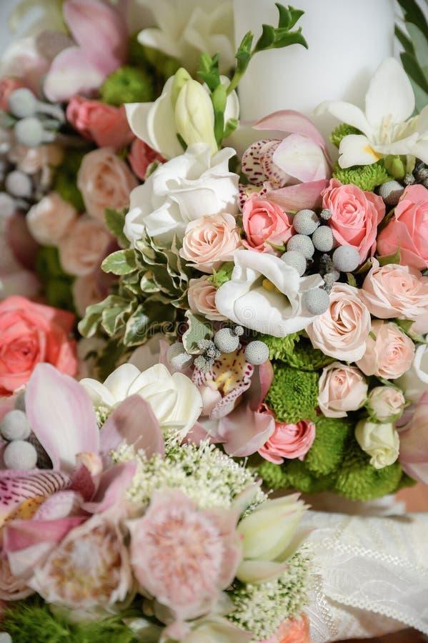 Λουλούδια γαμήλιας τελετής στοκ εικόνα