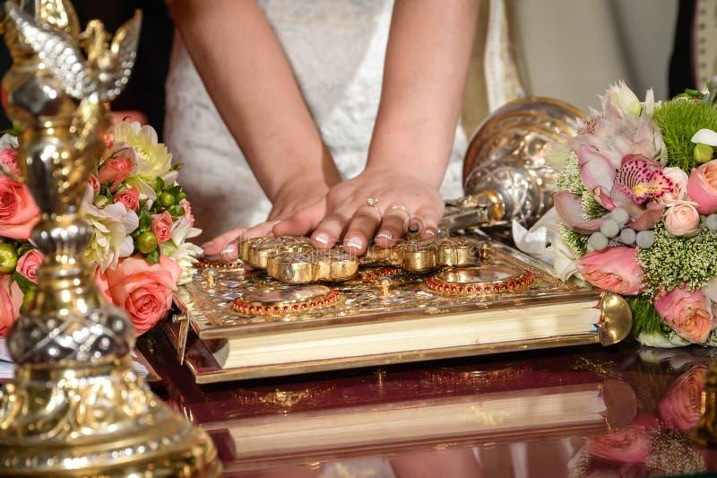 Λουλούδια γαμήλιας τελετής στοκ εικόνες με δικαίωμα ελεύθερης χρήσης