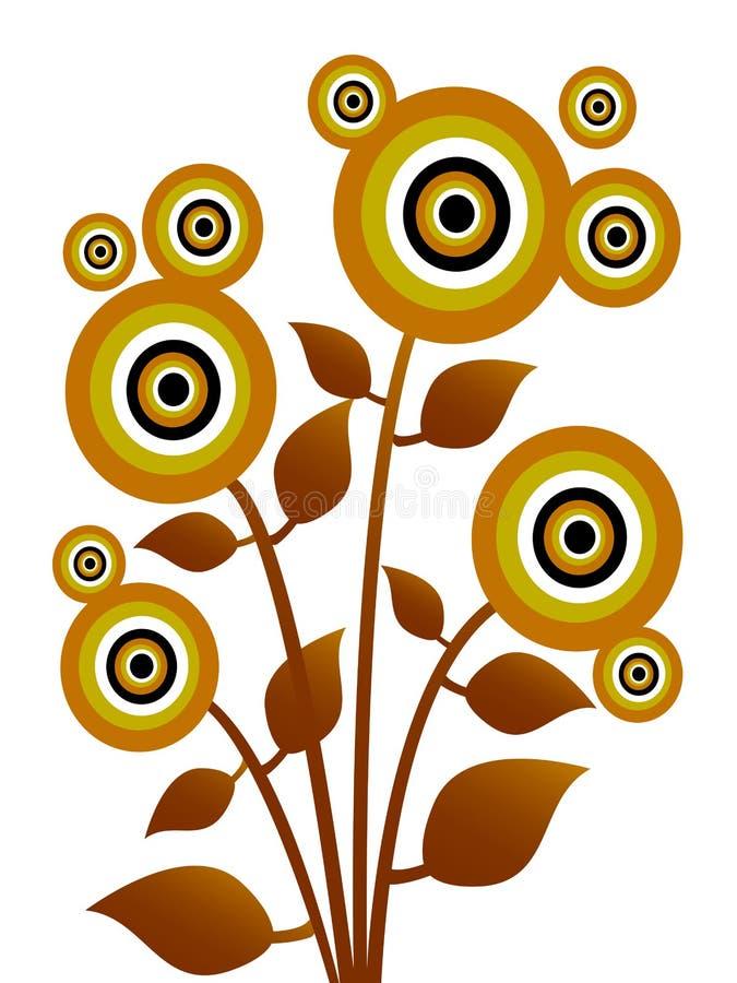 Λουλούδι εγκαταστάσεων απεικόνιση αποθεμάτων