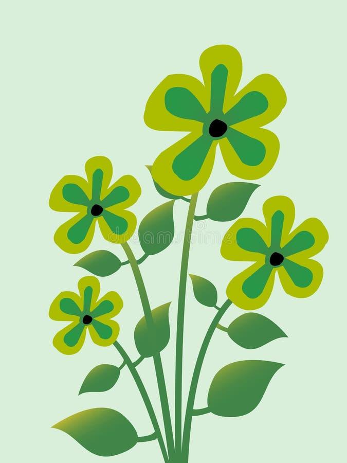 Λουλούδι εγκαταστάσεων ελεύθερη απεικόνιση δικαιώματος