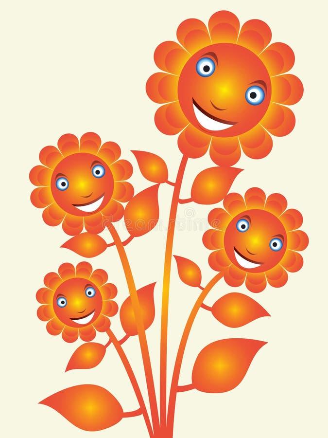 Λουλούδι εγκαταστάσεων διανυσματική απεικόνιση