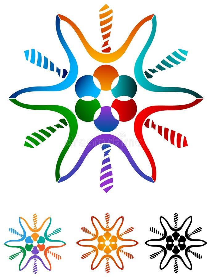 Λουλούδι ομάδας απεικόνιση αποθεμάτων