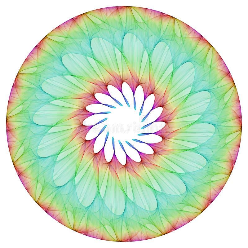 Λουλούδι Mandala ελεύθερη απεικόνιση δικαιώματος