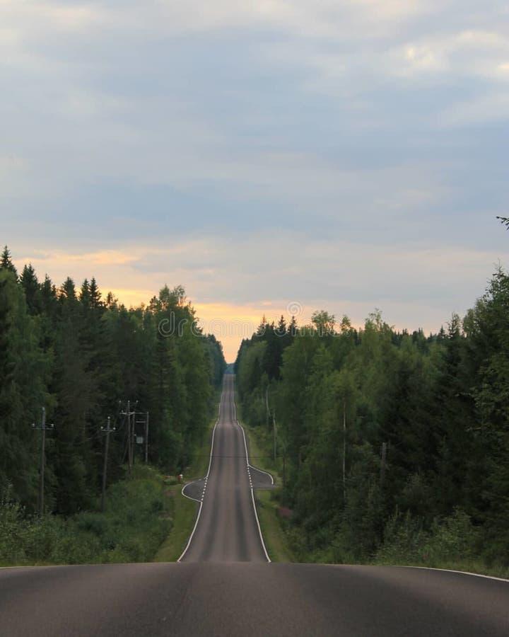 λοφώδης δρόμος στοκ εικόνες με δικαίωμα ελεύθερης χρήσης