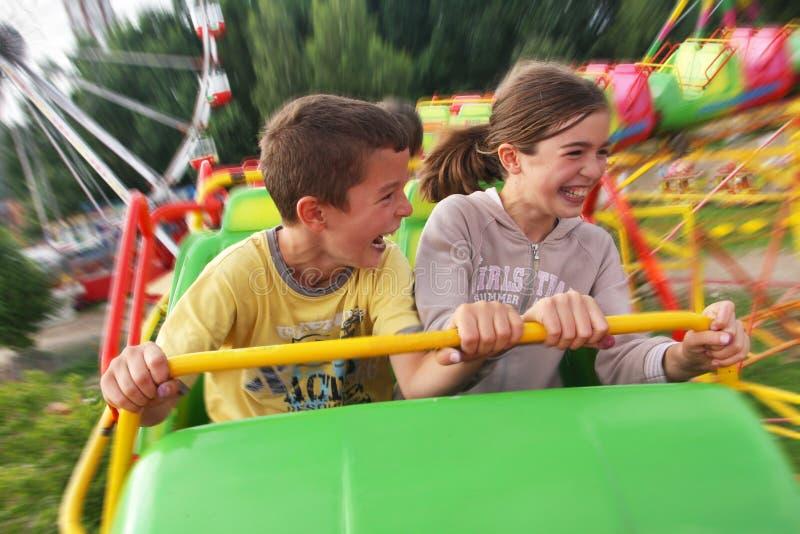 Λούνα παρκ παιδιών στοκ φωτογραφία με δικαίωμα ελεύθερης χρήσης