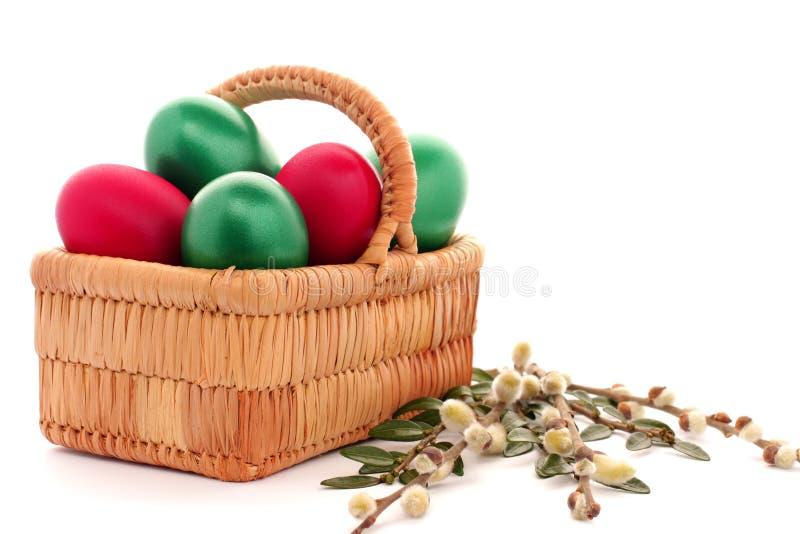 Download λυγαριά αυγών Πάσχας καλ&a στοκ εικόνα. εικόνα από φυσικός - 13178109