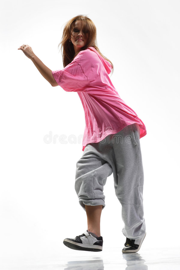 λυκίσκος ισχίων χορευτών στοκ φωτογραφία με δικαίωμα ελεύθερης χρήσης