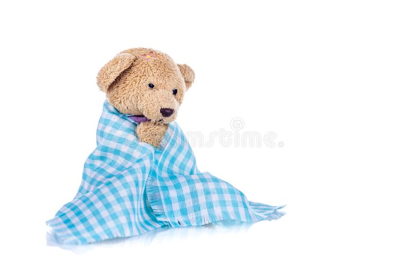 Λυπημένο Teddy αντέχει στοκ εικόνες