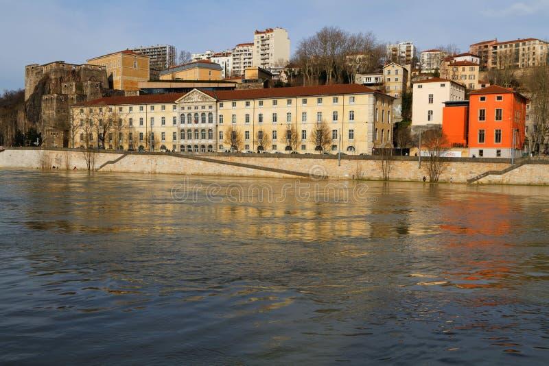 Λυών, ιστορικό μνημείο d'Abondance Grenier στοκ εικόνα με δικαίωμα ελεύθερης χρήσης