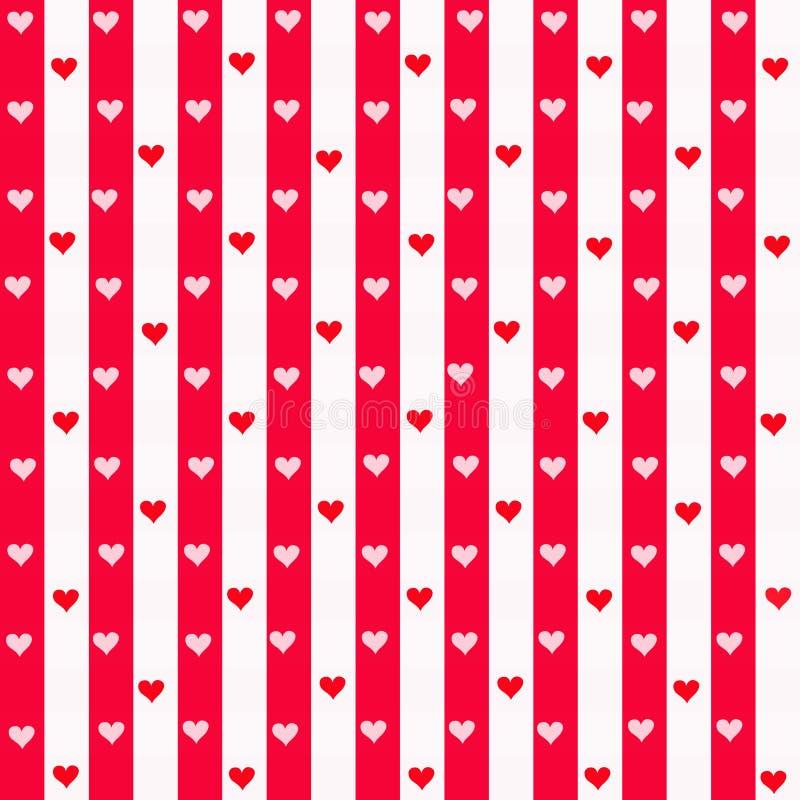 λωρίδες καρδιών απεικόνιση αποθεμάτων