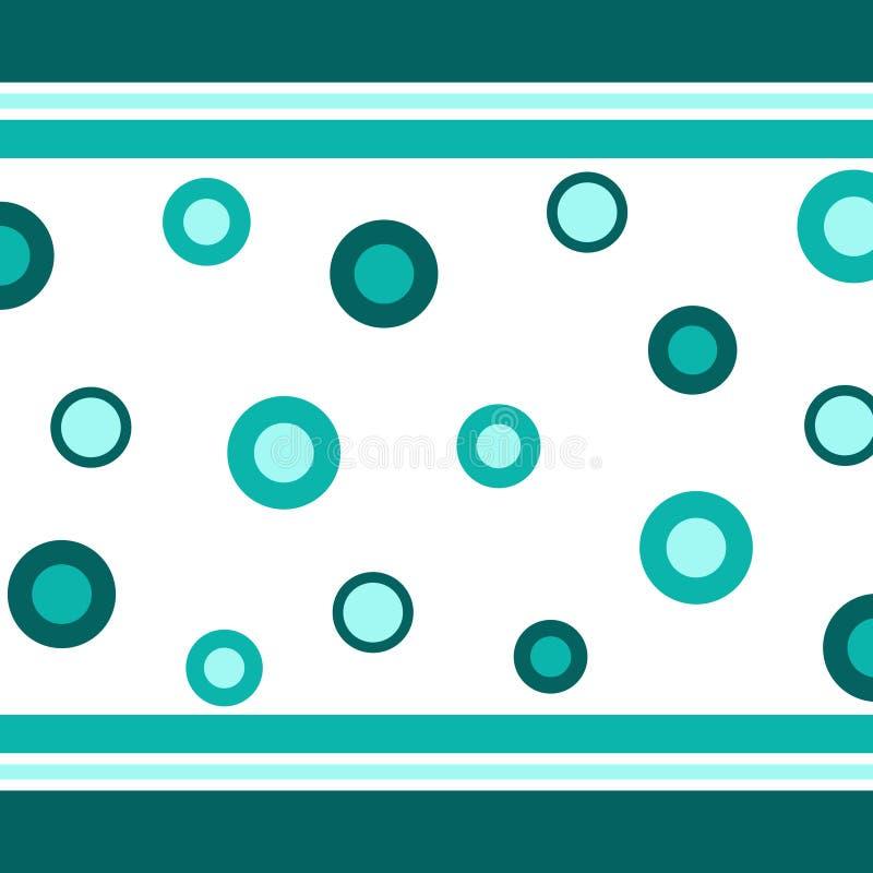 λωρίδες κύκλων διανυσματική απεικόνιση