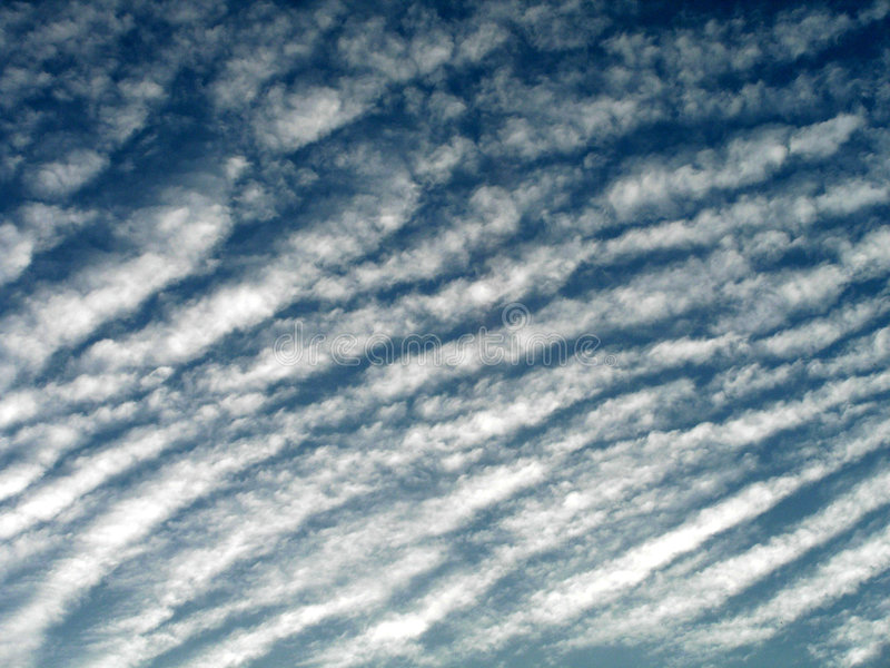λωρίδες σύννεφων στοκ φωτογραφία με δικαίωμα ελεύθερης χρήσης